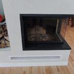 Oxide Bianco kominek