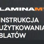 Instrukcja użytkowania blatów ze spieków kwarcowych Laminam